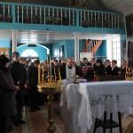 Понихида в день освобождения хутора. 10 февраля 2013год.